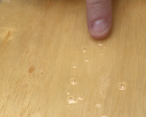 Epoxy With Bubbles